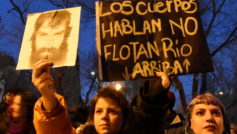 La marcha en Neuquén Foto: Juan Thomes