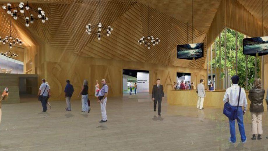 Así será el interior del Centro de Convenciones.  Foto: Prensa de Gobierno