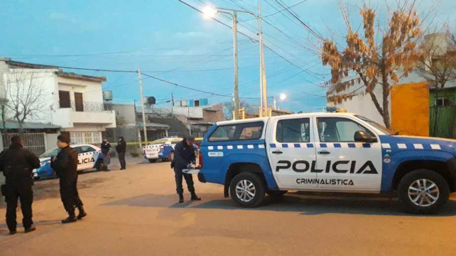 Se estima que el tiroteo ocurrió entre las 4 y las 5.30. (Mauro Pérez)