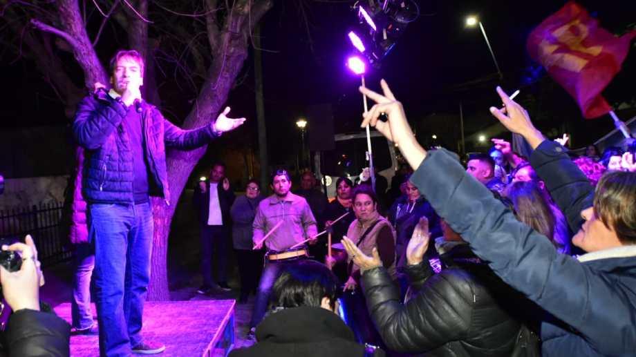 Soria sacó más de 160 mil votos y se impuso en Diputados. (Foto: Andrés Maripe)