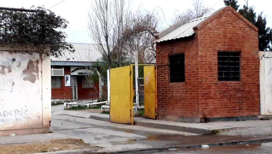La Unidad Penitenciaria N°12, se ubica en Matheu y Venado Tuerto (Foto: Mauro Pérez.-)