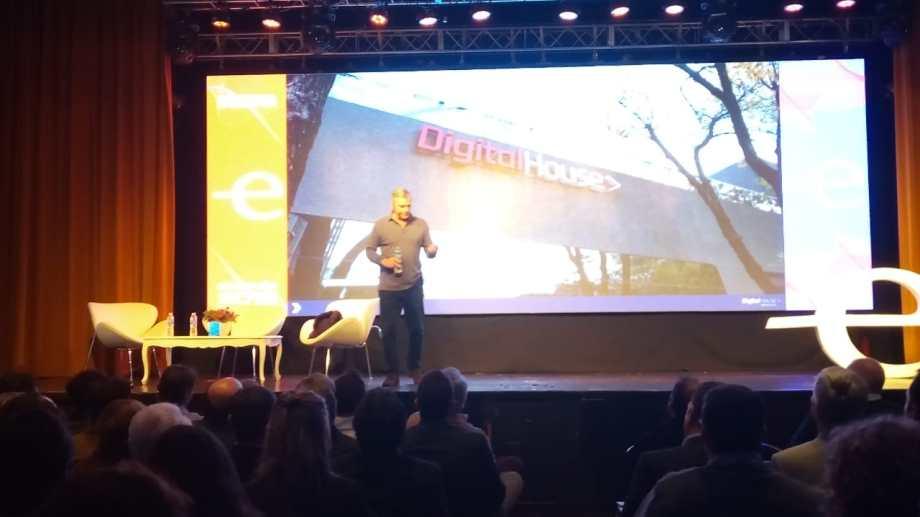 Eduardo Bruchou es cofundador de Digital House. (Yamil Regules).-