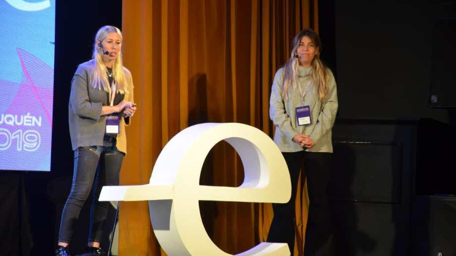 Nadia Javkin y Melanie Wolman son las fundadoras de Food Market. (Yamil Regules).-