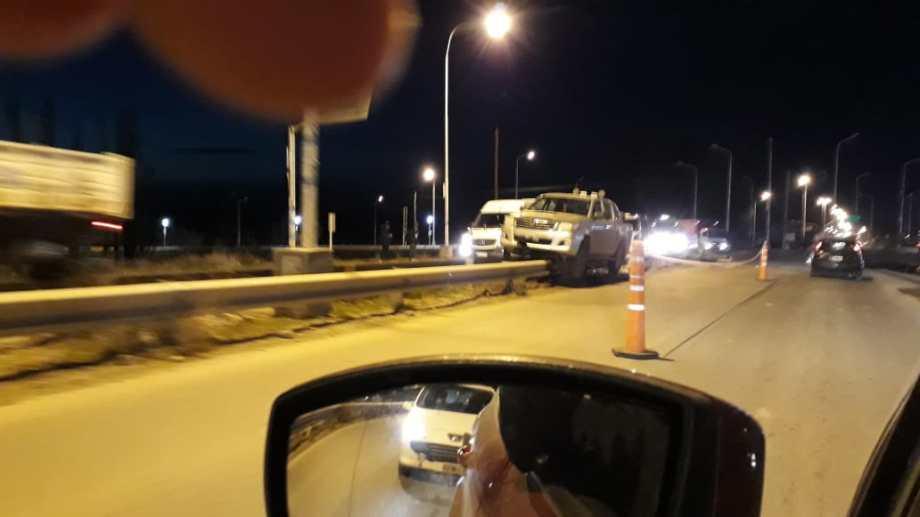 El accidente ocurrió  alrededor de las 6, en la Ruta Provincial 7.