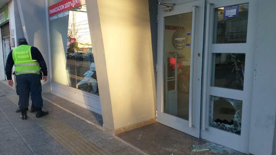 El local Kaeri Motos había sido robado ayer por la madrugada. (Foto: Archivo.-)