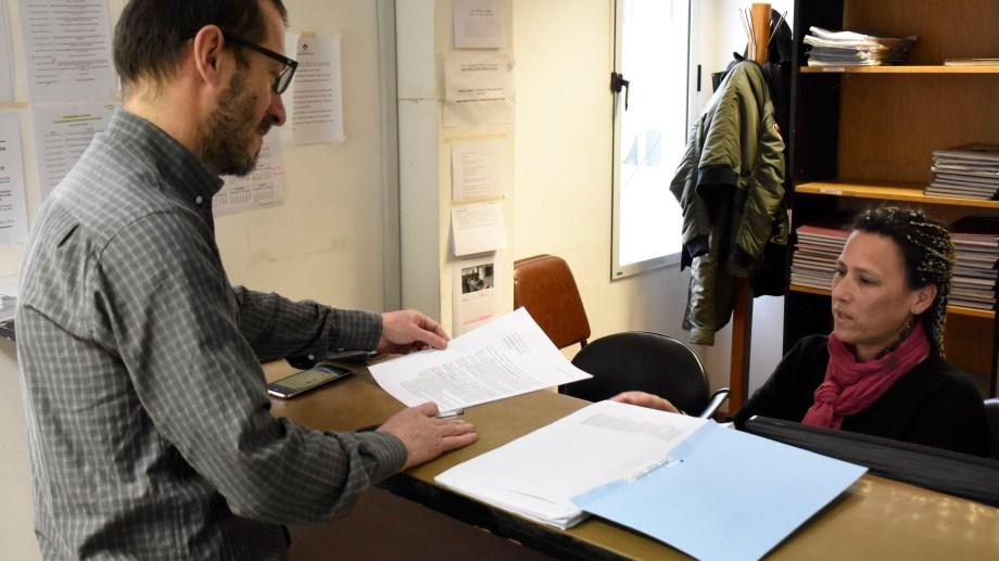 Pidieron un protocolo para la fiscalización de las maquinas para votar (Foto Florencia Salto)