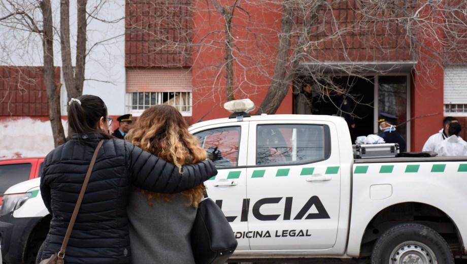 Pablo Báez murió con su mascota en el departamento donde vivía. Foto:  Archivo Florencia Salto