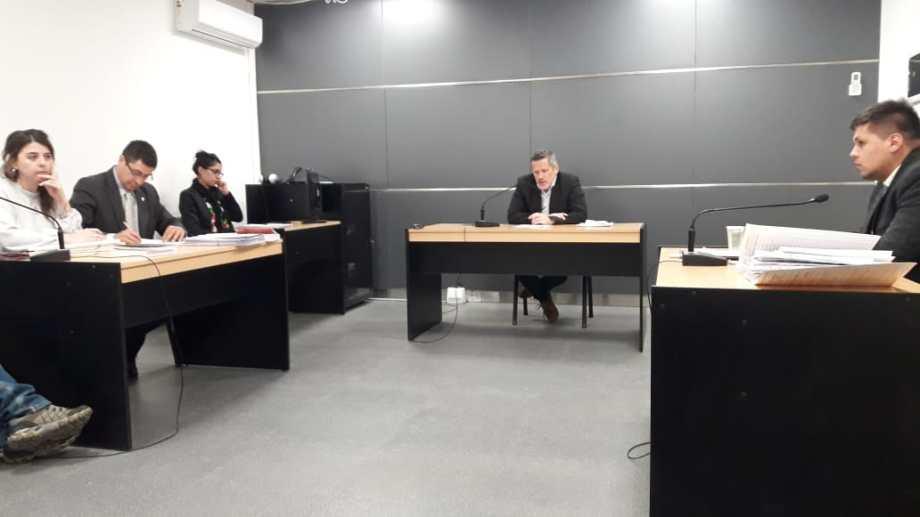 La audiencia de formulación de cargos se hizo este jueves después de las 14 en Tribunales. (Gentileza)