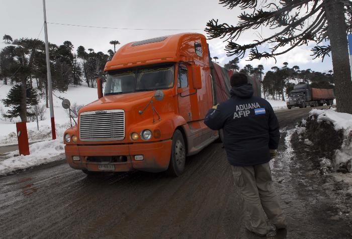 Habilitan la ruta 40 para camiones. Foto: archivo