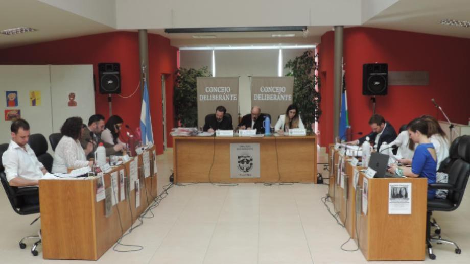El Concejo renovará sus nueve bancas en octubre. Foto: Marcelo Ochoa