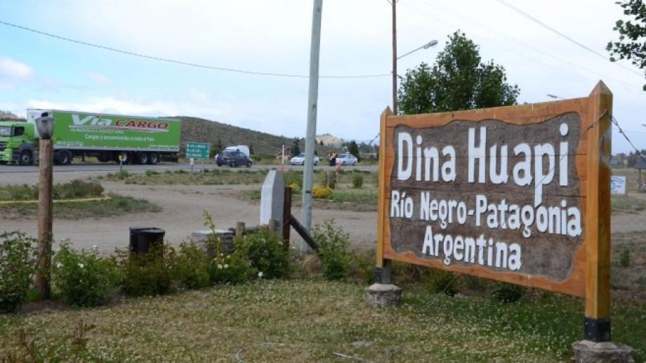 Dina Huapi elige autoridades municipales este domingo 27 de octubre. Foto: archivo