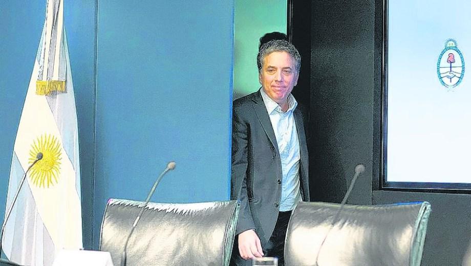 Nicolás Dujovne dejó el ministerio de Hacienda. (Foto: Archivo)