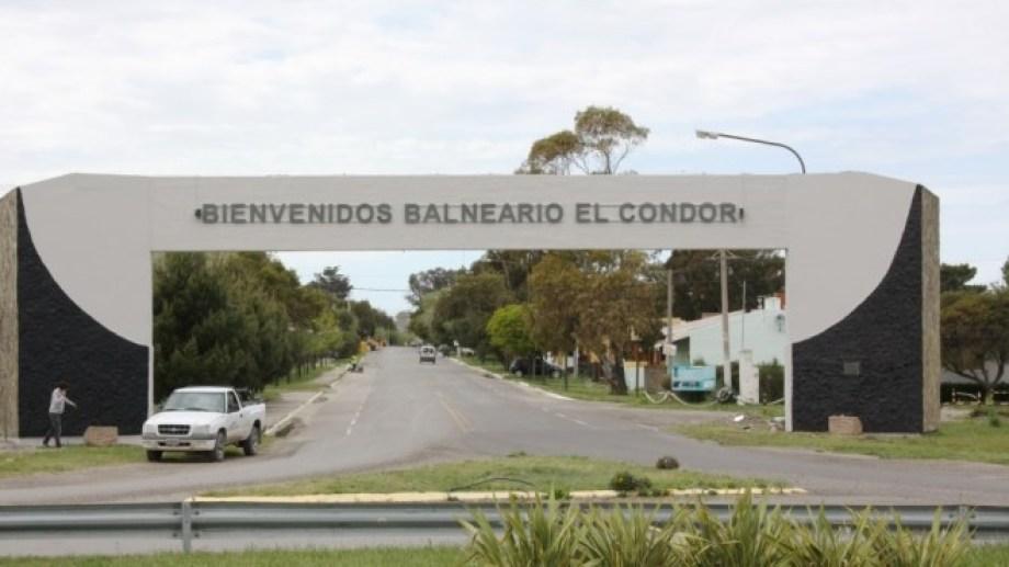 Los hechos ocurrieron en el balneario El Cóndor, que se encuentra a 30 kilómetros de Viedma. Foto Archivo