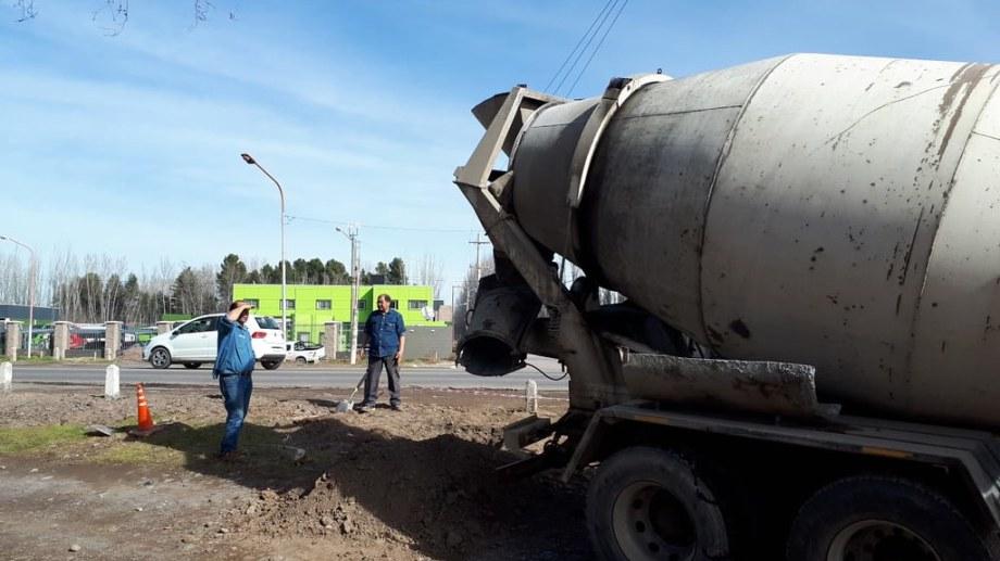 El aparato se emplazará en el cruce de la Ruta Nacional 22 y la calle Estado de Israel. Foto: Gentileza