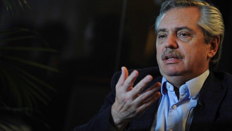 El candidato a presidente Alberto Fernández brindó extensas entrevistas a los diarios nacionales Clarín y La Nación. Foto gentileza.