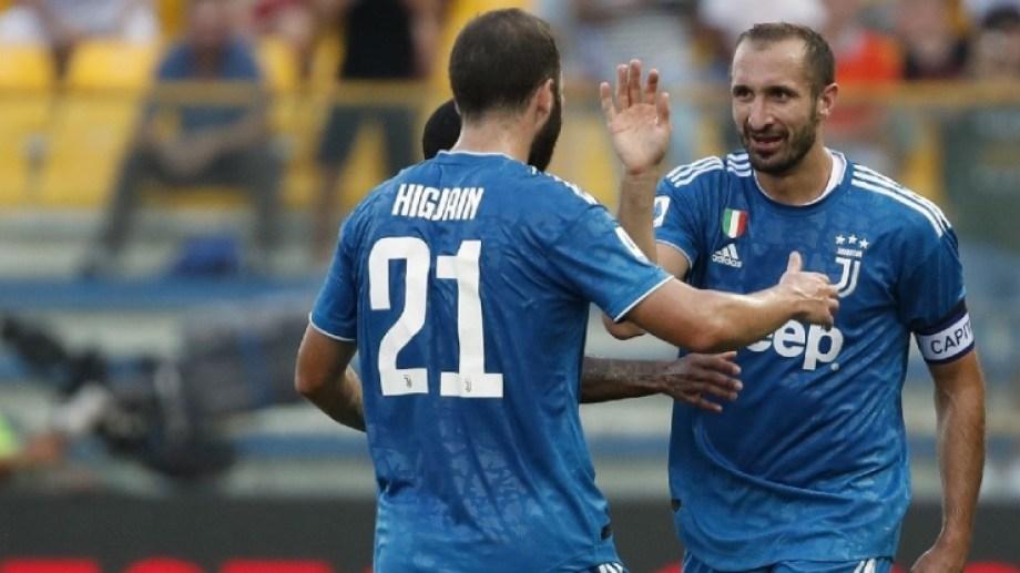 Higuaín estuvo desde el arranque en su vuelta al club de Turín.