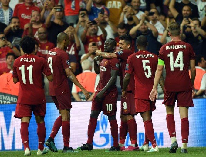 Los Reds ganaron por cuarta vez en su historia la Supercopa.
