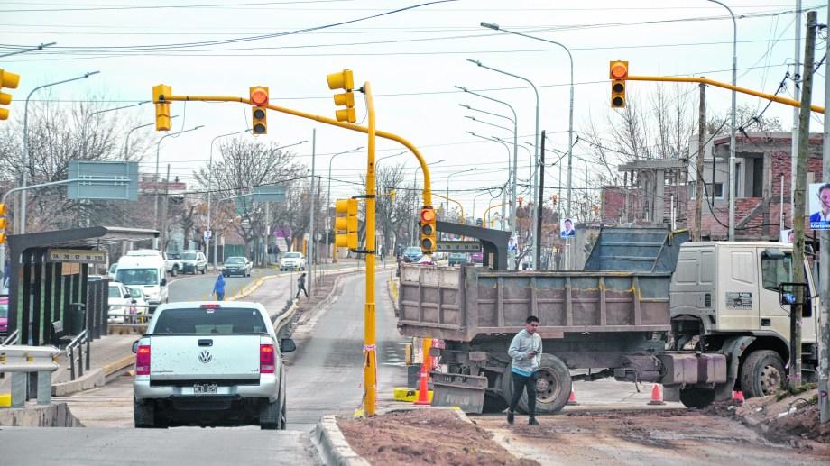 El municipio ultima detalles de la obra antes de la inauguración. Los carriles se extienden desde Necochea hasta Ruta 7.