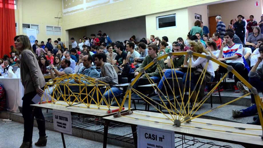El concurso es realizado por la Facultad de Ingeniería. Foto: Archivo Cecilia Maletti