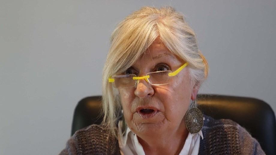 Isabel Tipping mantiene un bajo perfil en la Función Pública y ahora pasará al EPRE. Archivo
