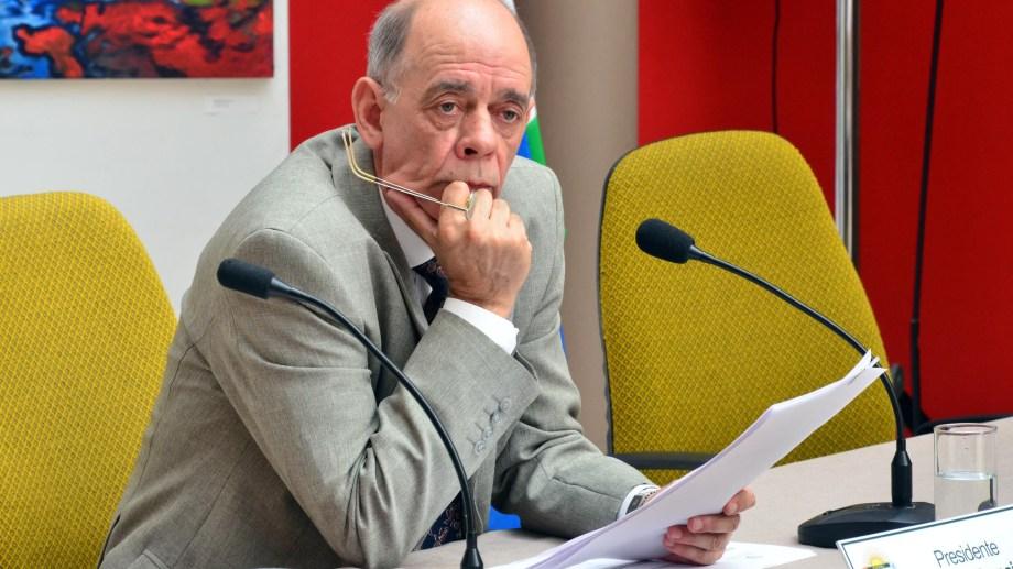 Mario Francioni asumirá en forma transitoria la intendencia de Viedma. Archivo: M. Ochoa.