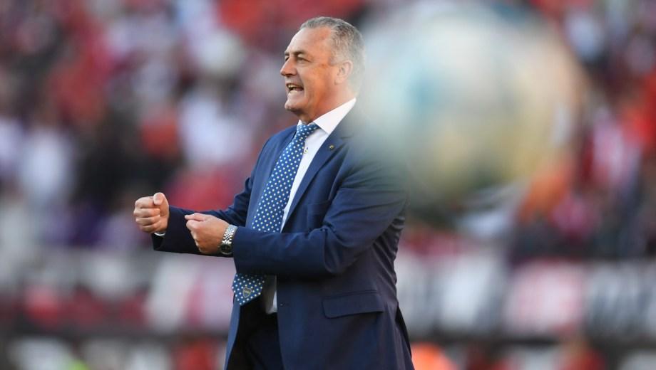 Gustavo Alfaro propuso un juego mezquino en el Monumental, River no lo pudo resolver y la expectativa va en aumento de cara a la serie semifinal por la Libertadores (Foto-Télam)