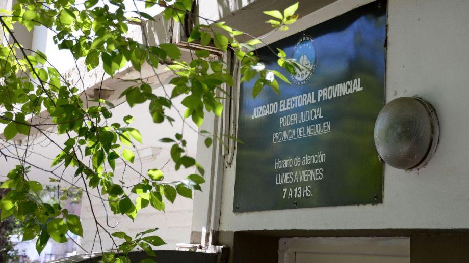 La sede del Juzgado Electoral Provincial. Foto: Archivo Mauro Pérez