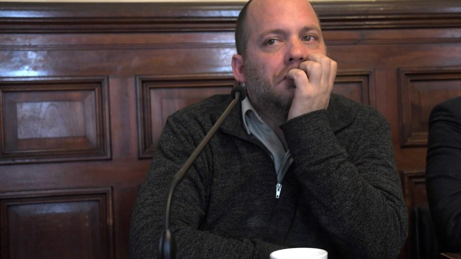 """Comenzó ayer el juicio contra el periodista Lucas Carrasco por """"abuso sexual agravado por acceso carnal. Foto Télam."""