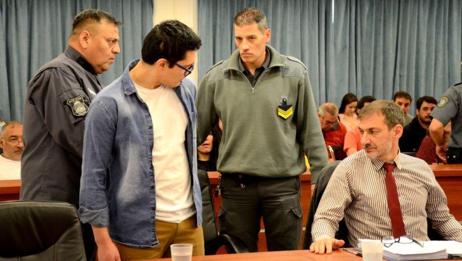 La defensa planteó que Marcos Fontán Guzmán tiene problemas psiquiátricos de larga data.   (Foto: Mauro Pérez)