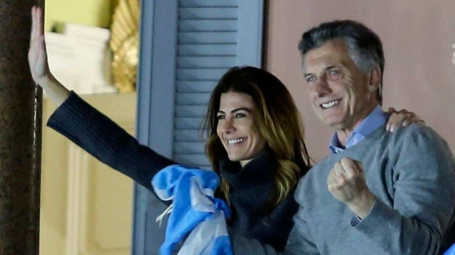 Macri con su esposa, Juliana Awada pasarán fin de año en la cordillera. Foto Archivo