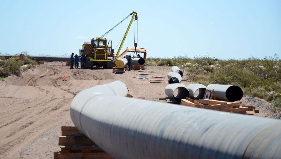 El tiempo de construcción del arenoducto de 220 kilómetros sería de 18 meses.