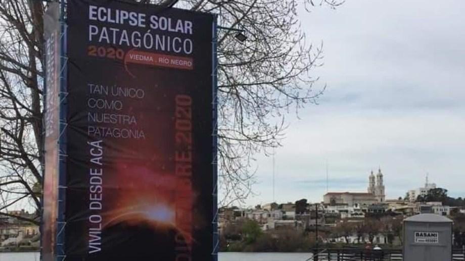 Resultado de imagen para eclipse solar 2020 en Río Negro,