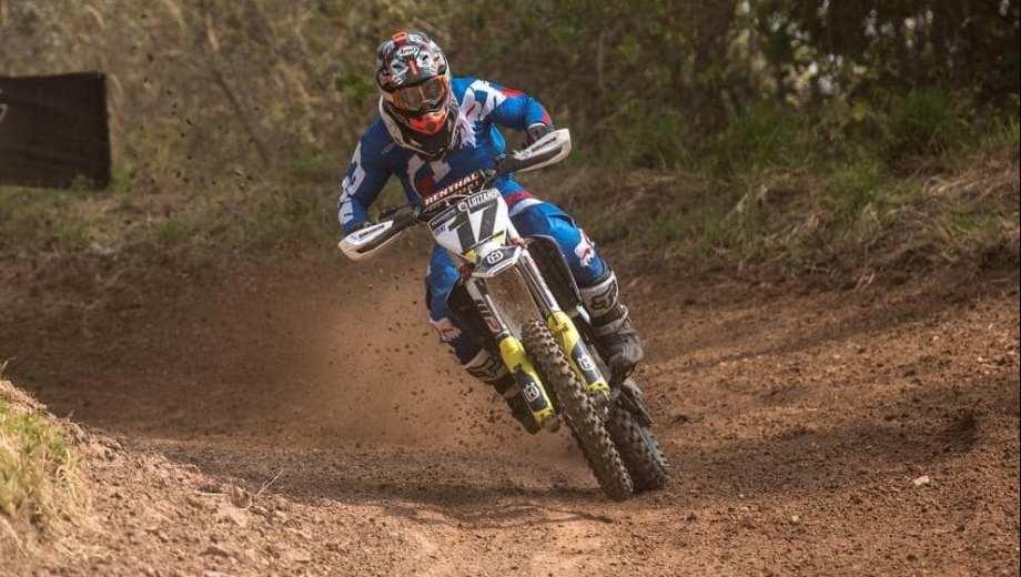 Juampi Luzzardi será una de las figuras en el Patagónico de motocrss en Regina. Gentileza.