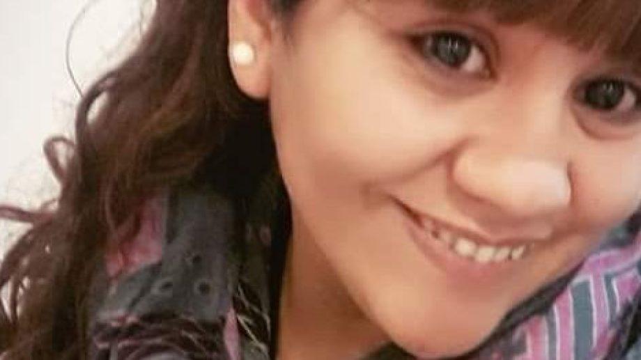 Georgina es una de las tres personas desparecidas desde ayer. (Gentileza).-