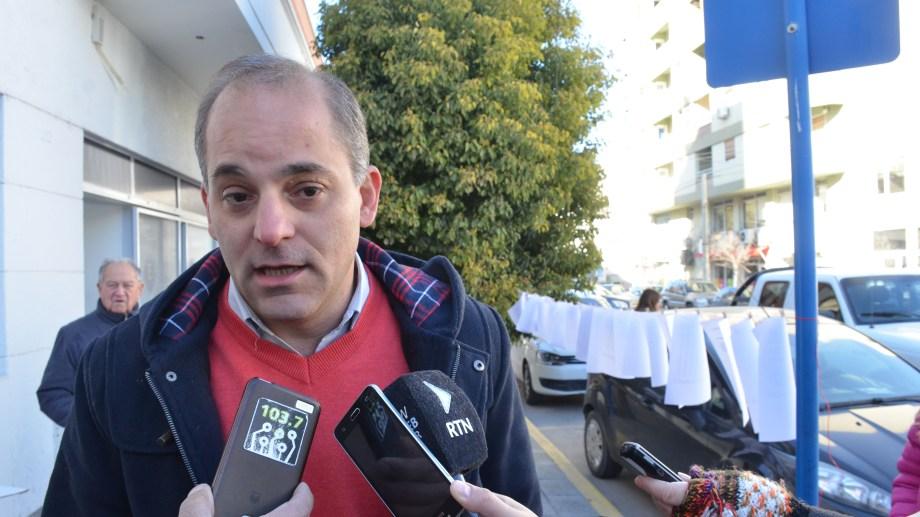 El concejal Francisco Baggio denunció públicamente al funcionario. (Foto: Archivo.-)