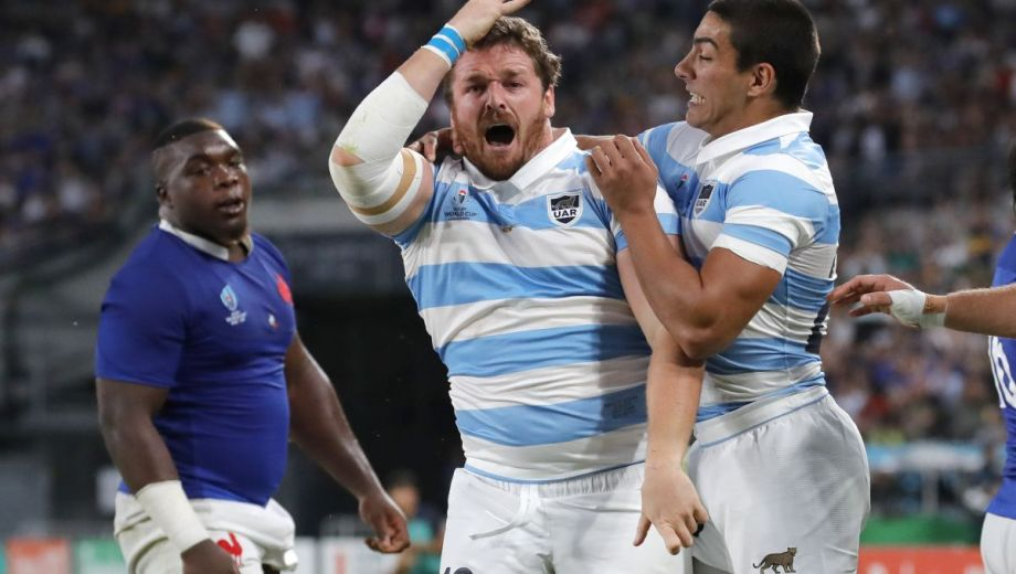 Julián Montoya reemplazará a Agustín Creevy, un histórico de los Pumas, para jugar ante Tonga.