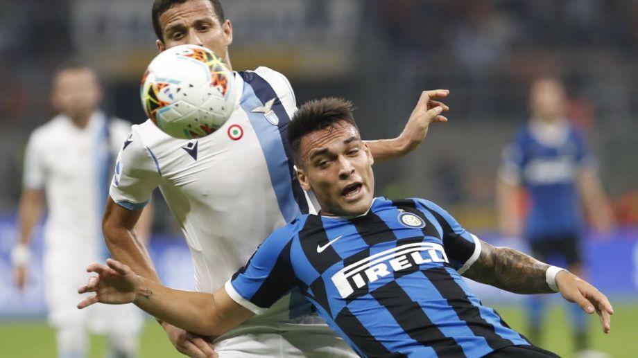 Lautaro Martínez ingresó faltando 13 minutos en el Inter.