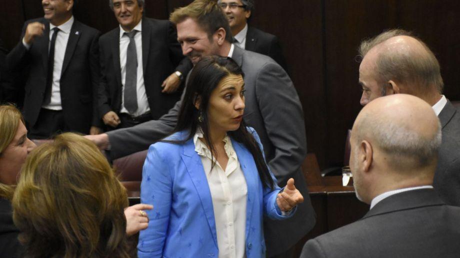 La senadora Lucila Crexell. Foto: Archivo Florencia Salto