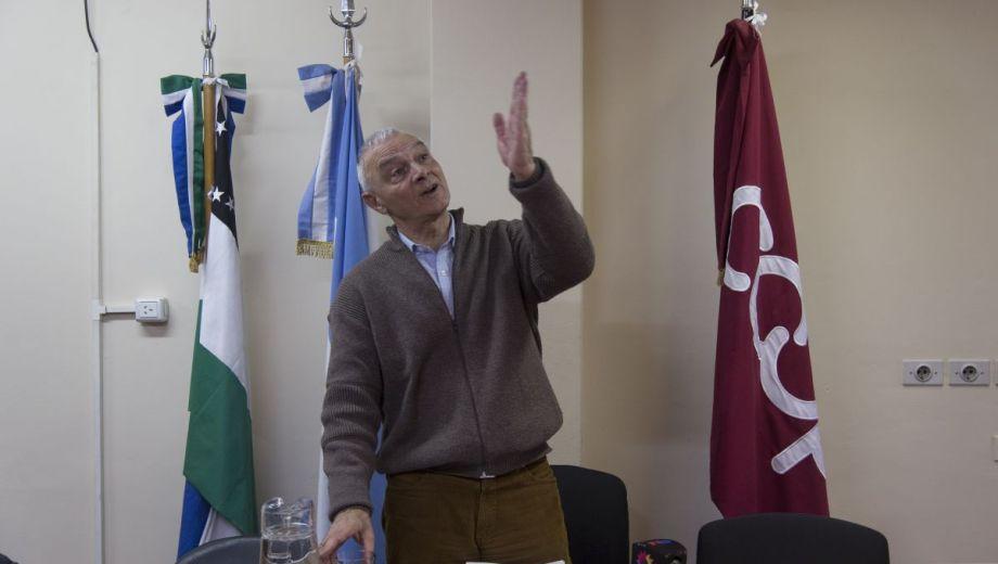 Jorge Perrella presidente de la CEB termina su mandato y se jubila. Foto: Marcelo Martínez