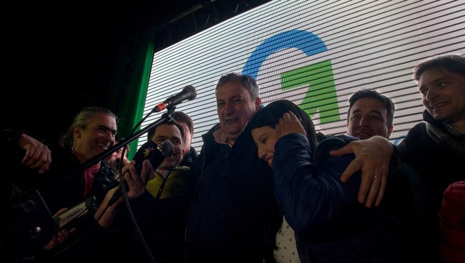 El intendente reelecto Gustavo Gennuso ganó con el 40 por ciento de los votos. Foto: Marcelo Martinez