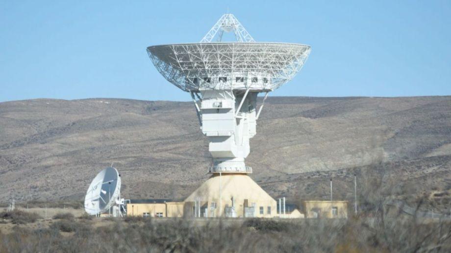 La estación de Neuquén brinda soporte a las misiones chinas de Exploración del Sistema Solar. Foto: archivo.