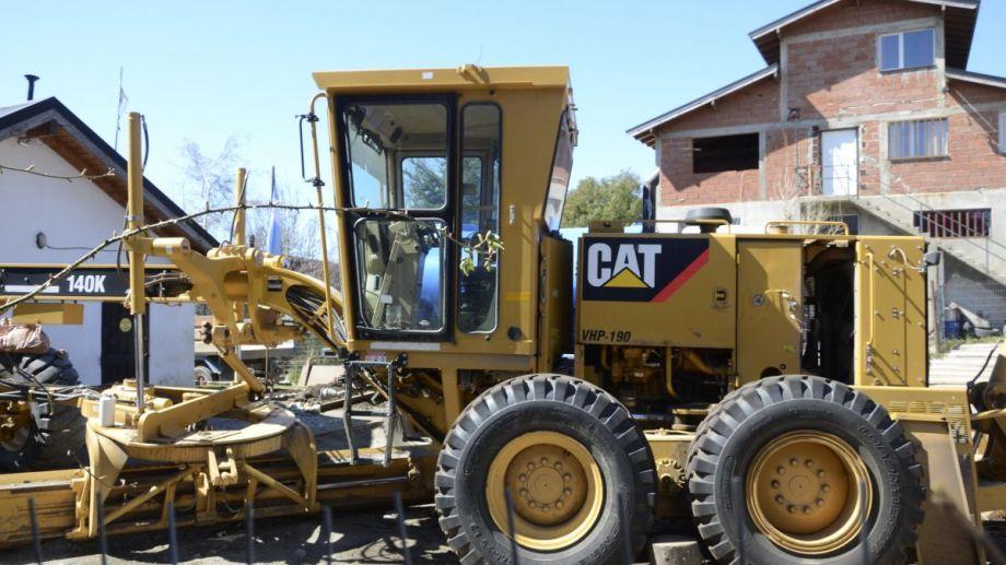 El alquiler de maquinaria en el municipio de Bariloche es una operatoria habitual. Archivo