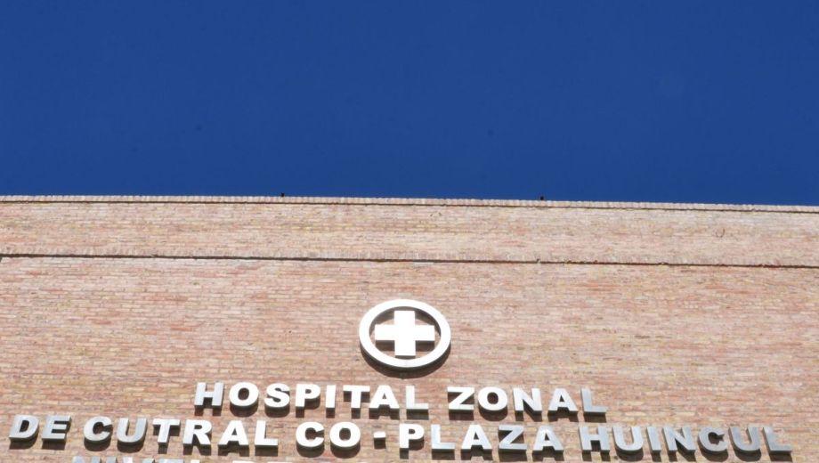 El nosocomio de Cutral Co y Plaza Huincul Foto: Archivo Juan Thomes
