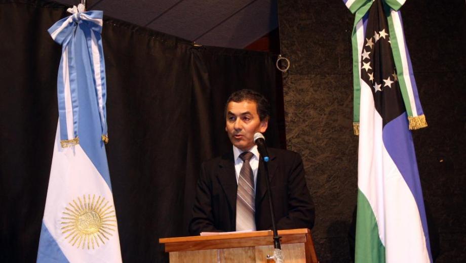 Danilo Rojas, intendente de Dina Huapi.