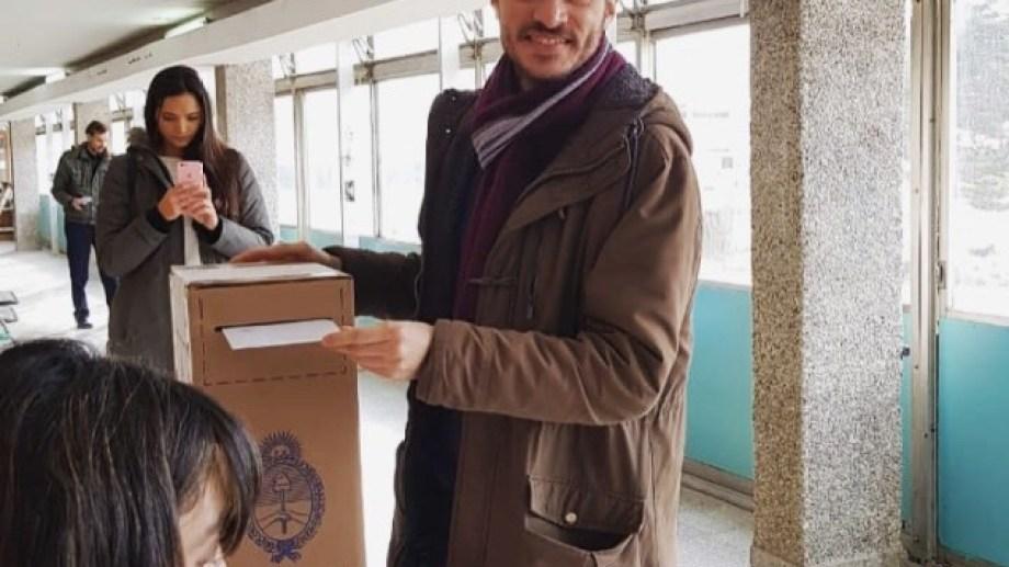 Santiago Palmeyro, candidato a intendente por Bariloche por el Cambio.