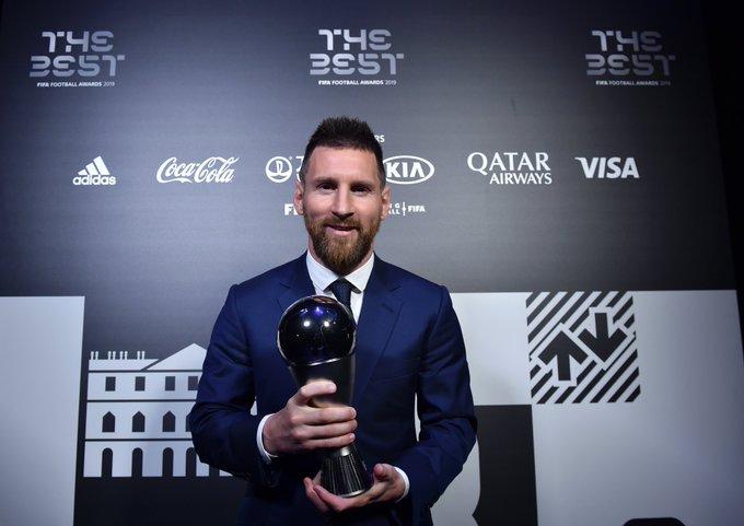 Messi superó a Cristiano y a Van Dijk en la terna.