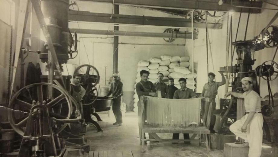 La fábrica, en su fundación. Año 1941 - Foto: Archivo.