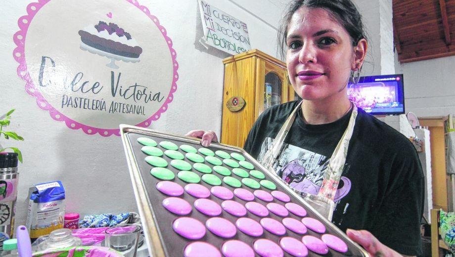 Victoria se promete a sí misma algún día abrir una cafetería en el centro de la ciudad. (Foto : Oscar Livera)