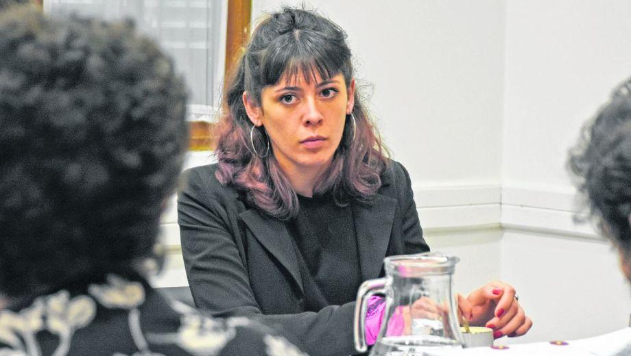 Abril Rosales es la peticionaria en la demanda por negación de justicia ante la CIDH.  Foto Juan Thomes.