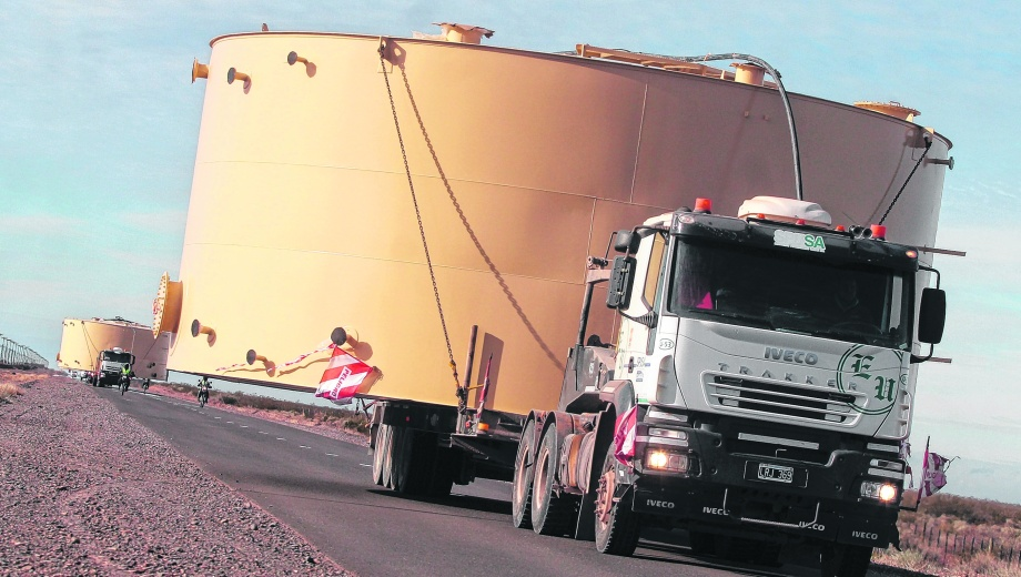 Aumentó la demanda. Con el boom de Vaca Muerta el pedido de tanques de almacenamiento creció exponencialmente.